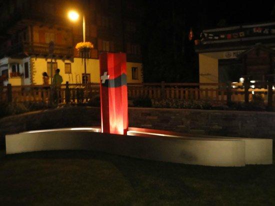 Hotel Aristella swissflair : Im Garten des Hotels