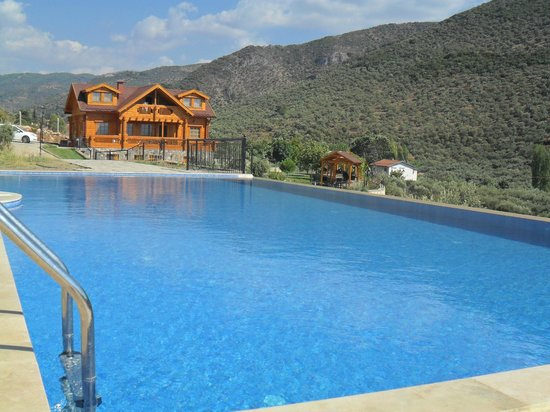 Natureland Efes Pension: pool and hotel
