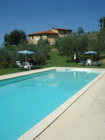 Podere Casarotta: Pool area