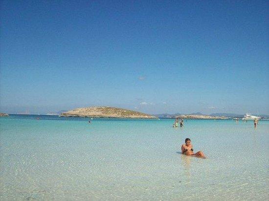 Strand Playa de ses Illetes: Paradise