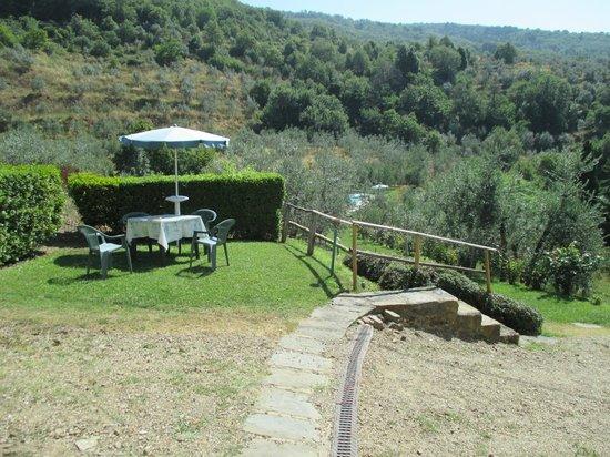 Podere Casarotta: Garden (Apartment 4)
