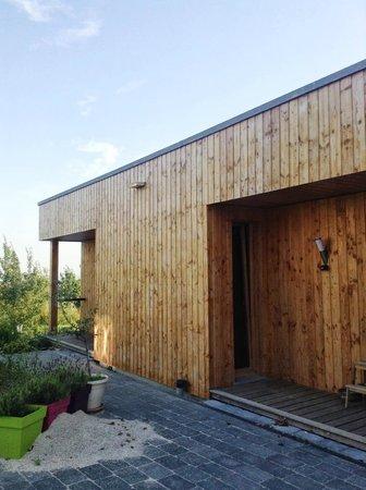 Le Chalet Champenois: Building récent, 2 chambres s'y trouvent