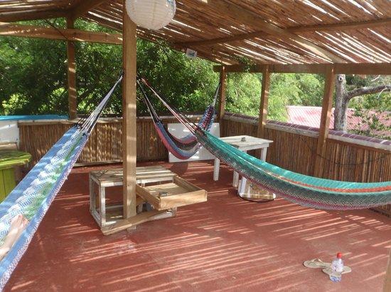 Hostal La Buena Onda: Rooftop