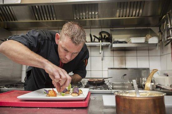 Chef's Table: concentratie voor de afwerking van de gerechten