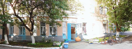 The Hub Kyiv Hostel: front porch