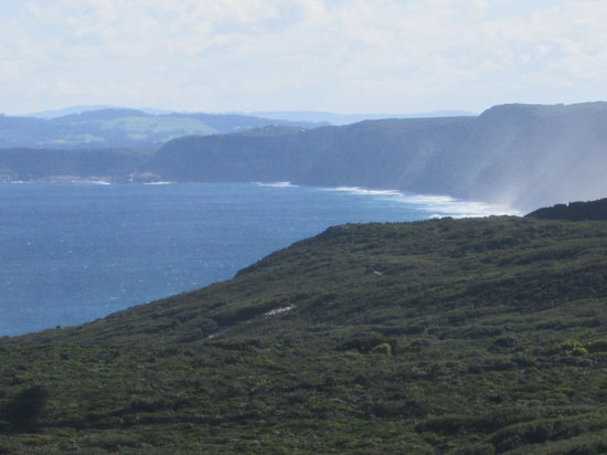 Albany Wind Farm: View from the wind farm