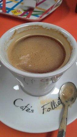Royal Kids Parc De Jeux : strong and tasty coffee