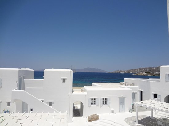 Mykonos Bay Hotel: gorgeous view from our room