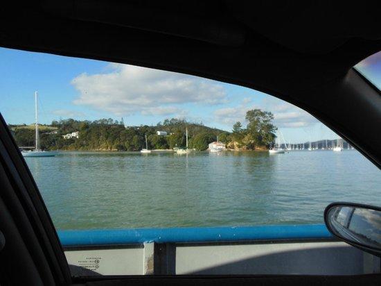 Paihia Harbour: Car ferry