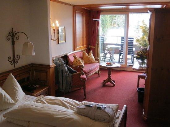 ERMITAGE Wellness- & Spa-Hotel : Teilansicht Zimmer