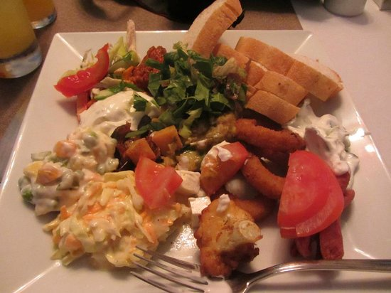Shades Restaurant Cafe and Bar: yummy food