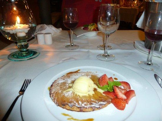 Hotel Cala Sant Vicenç: Tarte tatin