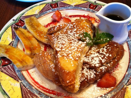 Miss Shirley's Cafe: Stuffed Coconut Creme French Toast