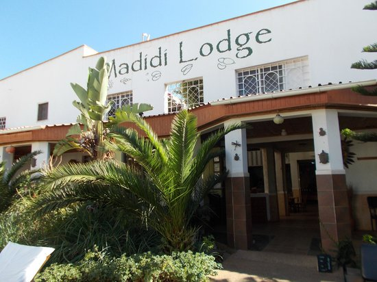 Madidi Lodge: Some quaint decorative pieces made from metal