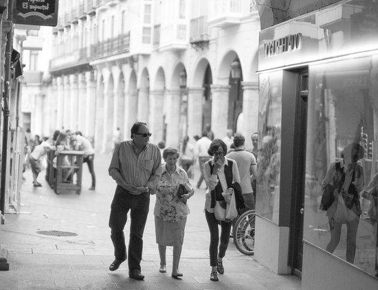 La Morada del Cid: Street scene Burgos