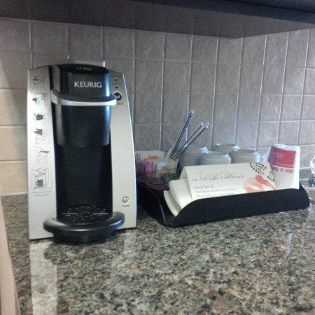 Ramada Brooks: coffee maker