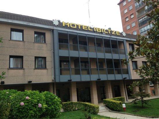 Ibiltze Hotel Lasarte: Outside