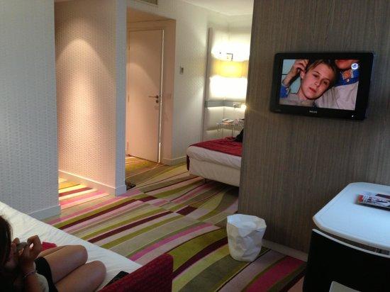 Mercure Le President Biarritz Centre : 2 espaces, 2 télé !