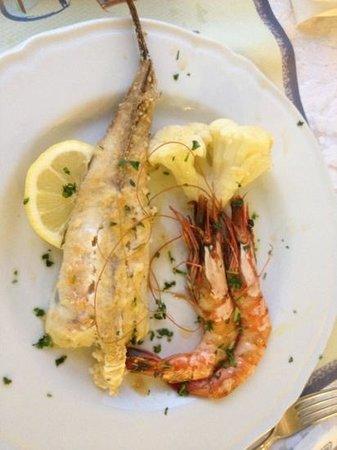 Hotel Amalfi: good food