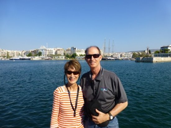 Athens Custom Taxi Tours: A photo by the marina in Piraeus