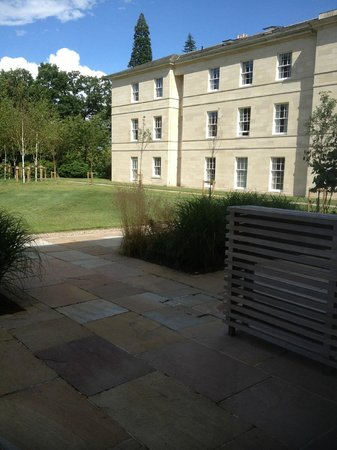 Rudding Park Hotel: View from terrace