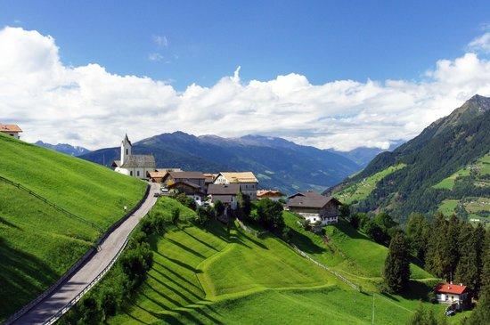Gasthaus Prennanger: Vista della borgata di Talle