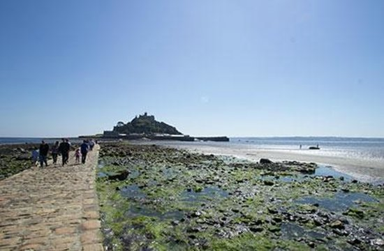 St Michael's Mount from the causeway at Marazion