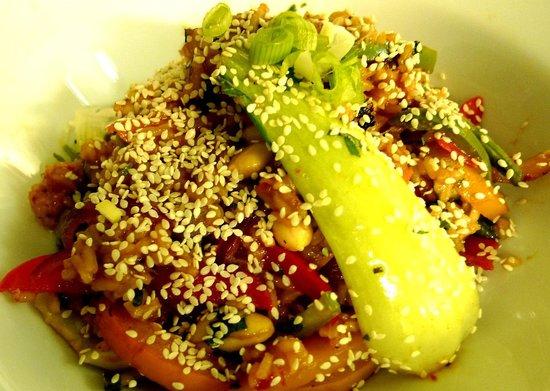 Mono Cafe Bar: Nasi goreng
