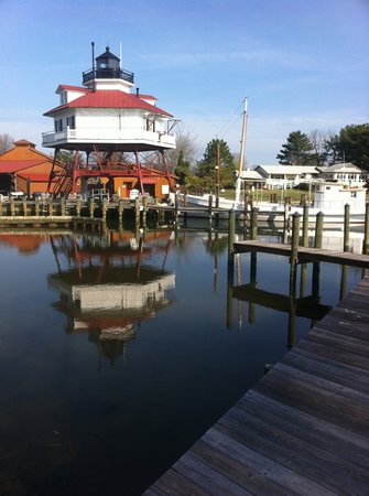 Calvert Marine Museum and Drum Point Lighthouse: Drum Point Lighthouse