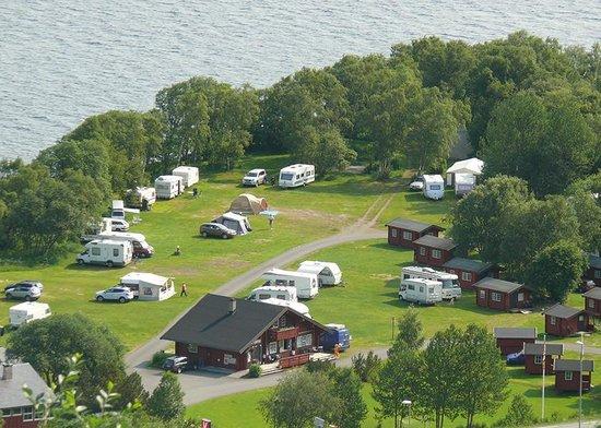 Vang, Norwegen: view on Boflaten Camping