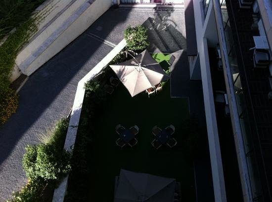 Hotel Pulitzer Roma: chambre côté cour