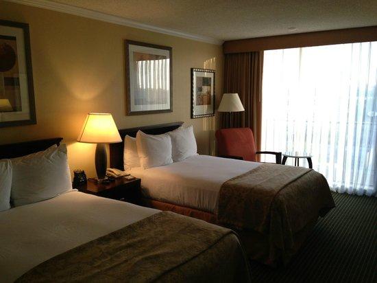 Hilton Irvine/Orange County Airport: Bed