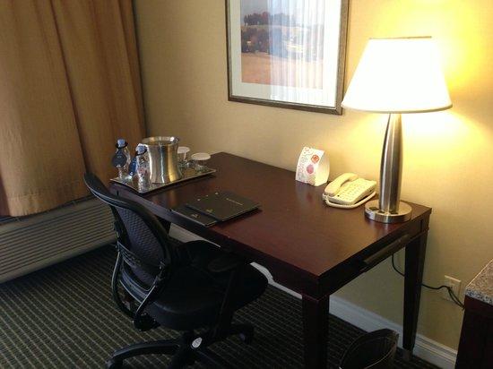 Hilton Irvine/Orange County Airport: Desk