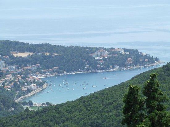 Girandella Tourist Village: Rabac vu de Labin