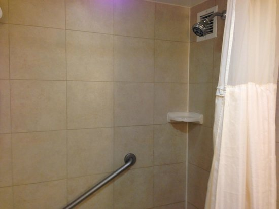 Hilton Irvine/Orange County Airport: Shower/Tub