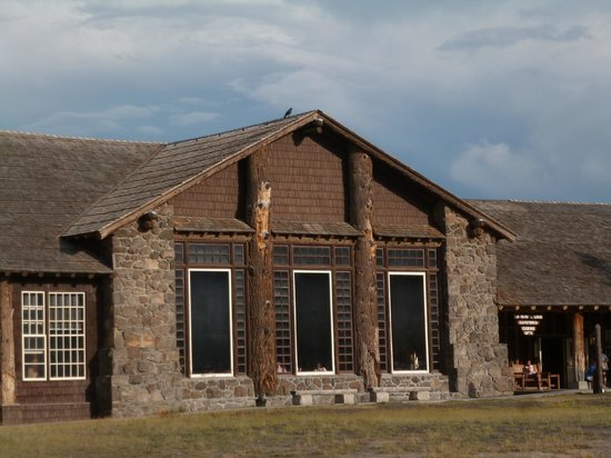 Old Faithful Lodge Cafeteria & Bake Shop: Outside the cafeteria