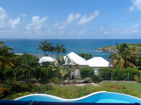 Hotel Amaudo: vue de la chambre