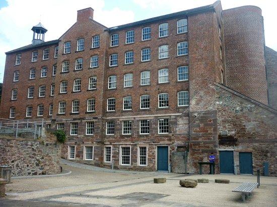 Stanley Mills: Well restored mill in beautiful surroundings.