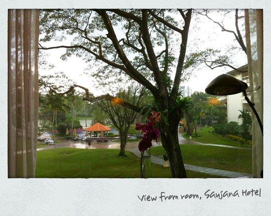 The Saujana Kuala Lumpur: hotel grounds