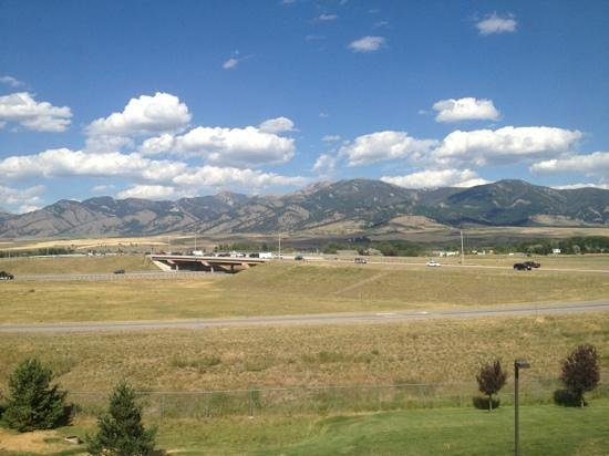 Residence Inn Bozeman: our view!