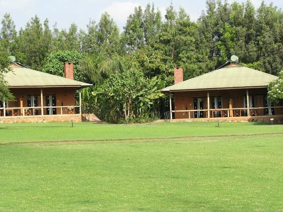 Tloma Mountain Lodge, Tanganyika Wilderness Camps: The units by the central square