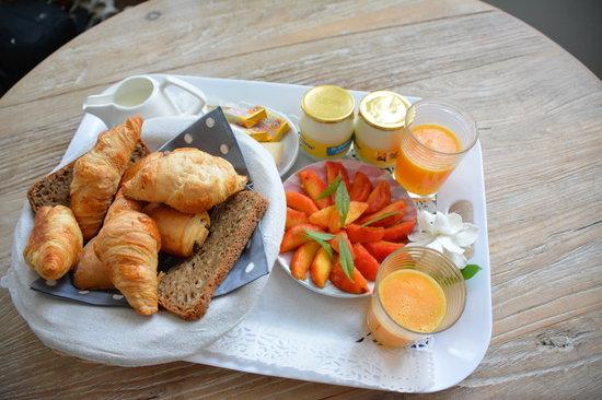 Villa Cosy : Le petit déjeuner