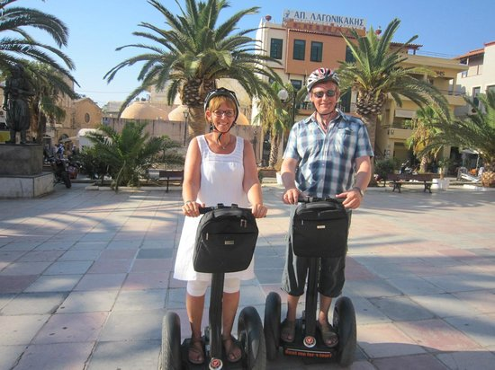 Chania Segway Tours: B&E on tour;-)