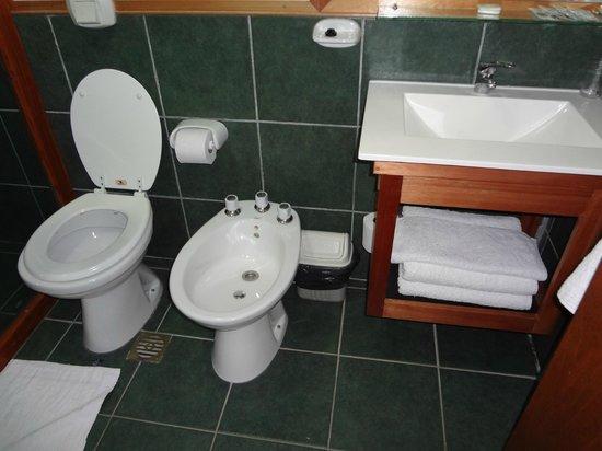Mirando al Sur: banheiro