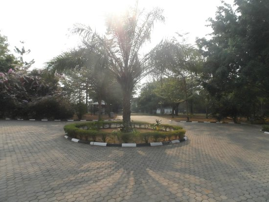 Savannah Resort Hotel: Front lawn