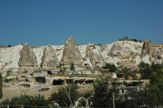 Elif Star Caves: View from our bathroom.