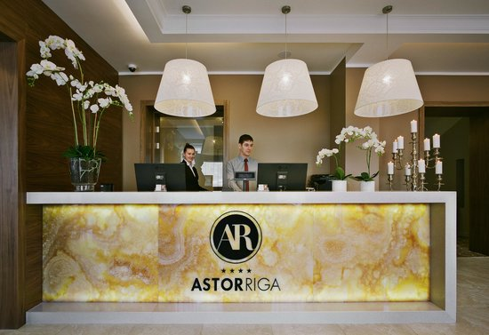 Astor Riga Hotel & Conference: Reception