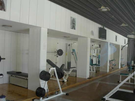 Hotel Amfora: The gym downstairs