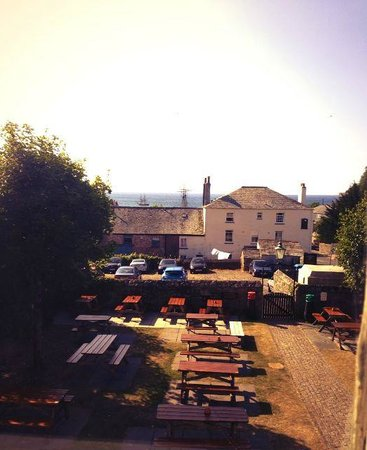 Rashleigh Arms: The view from the Sail room.