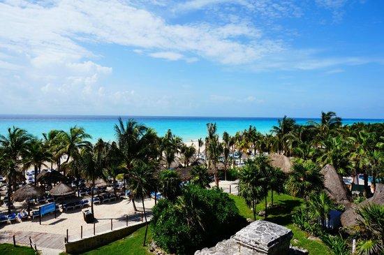 Sandos Playacar Beach Resort: Sea view